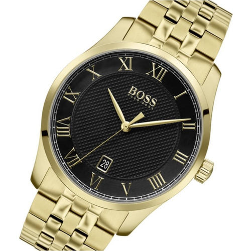 Hugo Boss Master Gold Steel Men's Watch - 1513739
