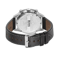 Hugo Boss Aero Black Leather Men's Watch - 1513770