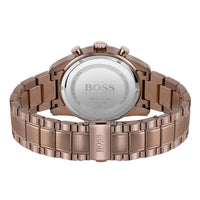 Hugo Boss Brown Steel Chrono Men's Watch - 1513788
