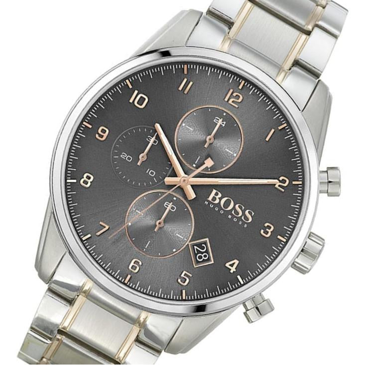 Hugo Boss Skymaster Two-Tone Steel Men's Chronograph Watch - 1513789