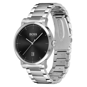 Hugo Boss Silver Steel Men's Watch - 1513792