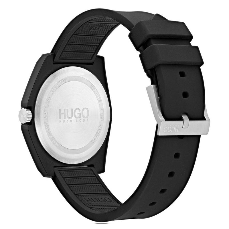 Hugo Play Black Sports Unisex Watch - 1520006