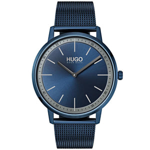 Hugo Exist Blue Mesh  Sports Watch - 1520011