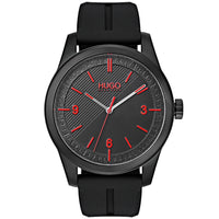 Hugo Create Black Silicone Men's Watch - 1530014