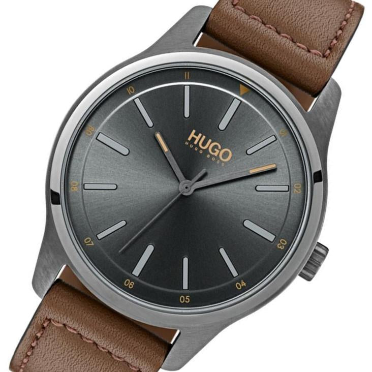 Hugo Brown Leather Men's Watch - 1530017