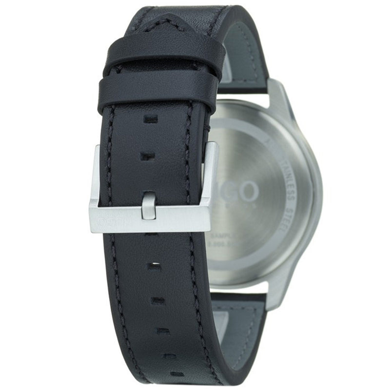 Hugo Dare Black Leather  Men's Watch - 1530018