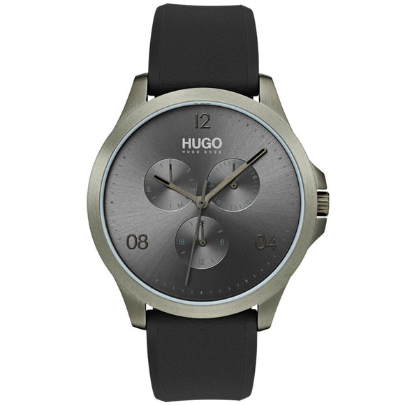 Hugo Risk Khaki Silicone Men's Watch - 1530035
