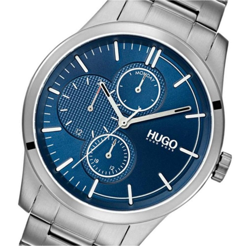 Hugo Discover Multifunctional Stainless Steel Men's Watch - 1530085