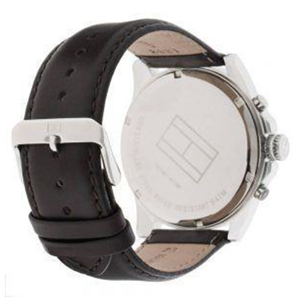10e3b205d Tommy Hilfiger Men's Watch with Brown Leather Band - 1710294 – The ...