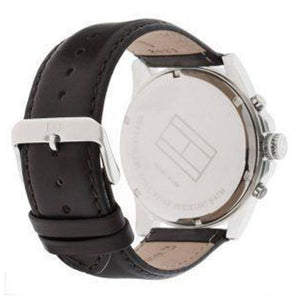 Tommy Hilfiger Men's Watch with Brown Leather Band - 1710294
