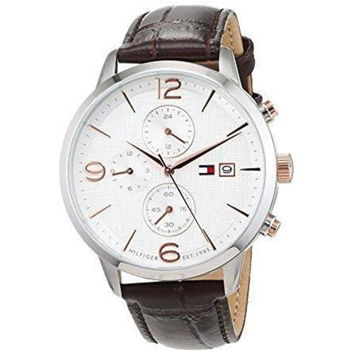 Tommy Hilfiger The Liam Men's Multi-functional Leather Watch - 1710360