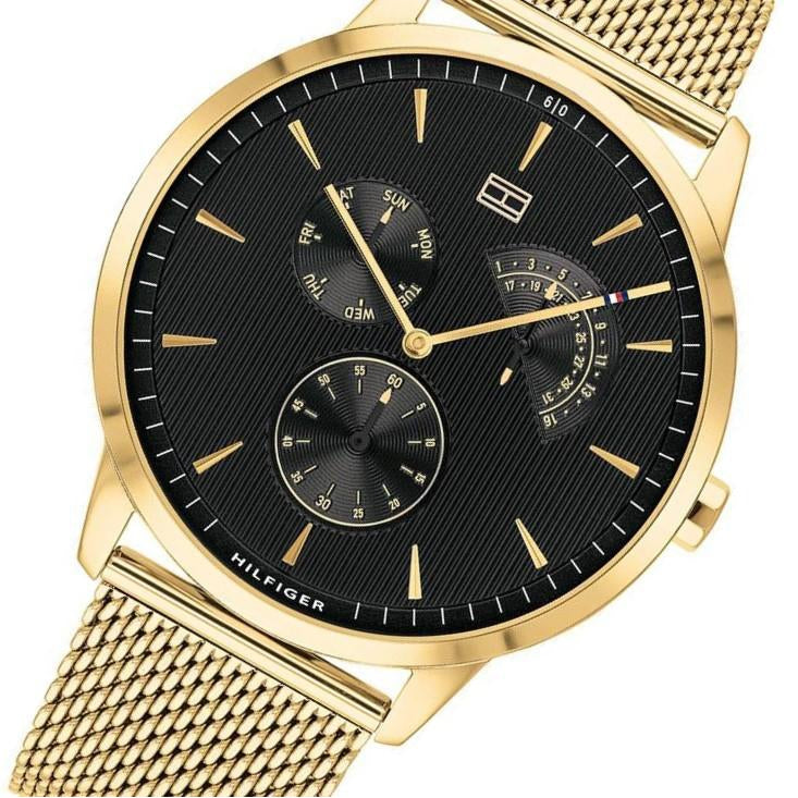 Tommy Hilfiger Classic Gold Mesh Men's Watch - 1710386