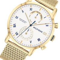 Tommy Hilfiger Multi-function Gold Mesh Men's Watch - 1710403