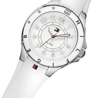 Tommy Hilfiger  White Silicone Ladies Watch - 1781271