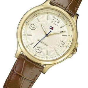 Tommy Hilfiger Leather Ladies Watch - 1781711
