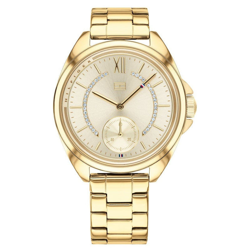 Tommy Hilfiger Gold-toned Steel Women's Watch - 1781988