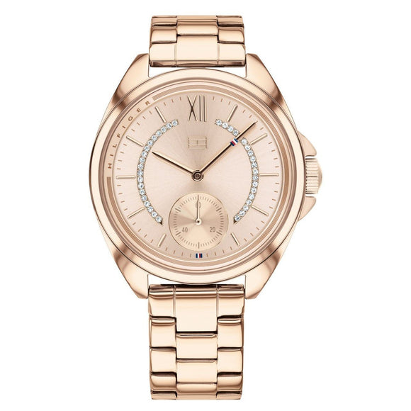 Tommy Hilfiger Carnation Gold-toned Steel Women's Watch - 1781989