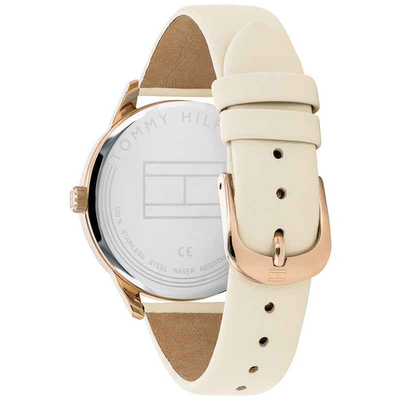 Tommy Hilfiger Elegant Leather Ladies Watch - 1782022