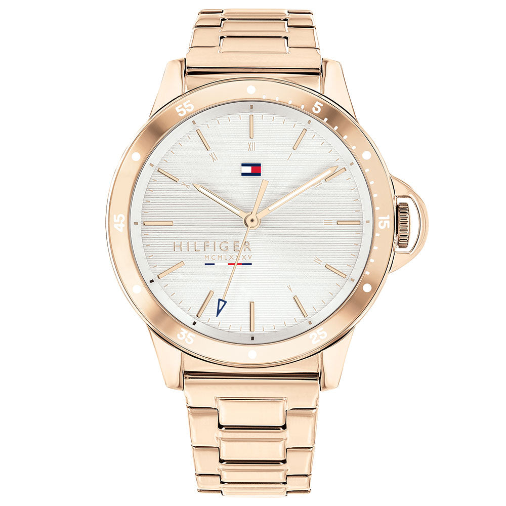 Tommy Hilfiger Carnation Gold Steel Ladies Watch - 1782024