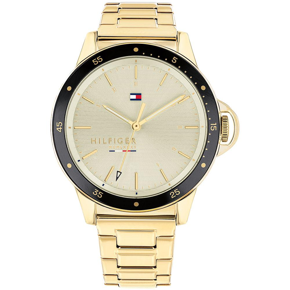 Tommy Hilfiger Gold Tone Steel Women's Watch - 1782025