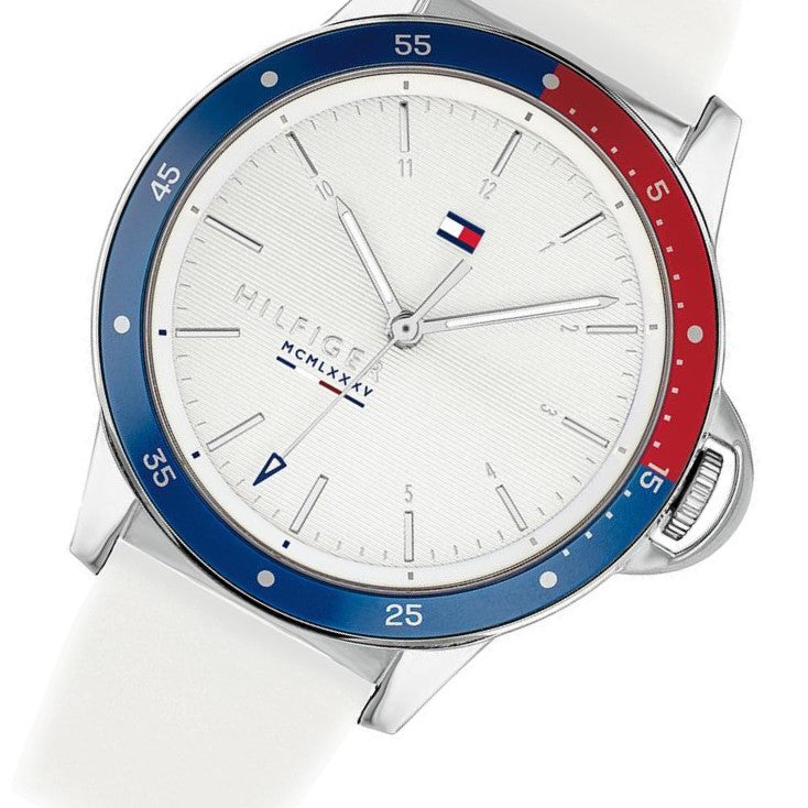 Tommy Hilfiger Ladies Silicone Sport's Watch - 1782029