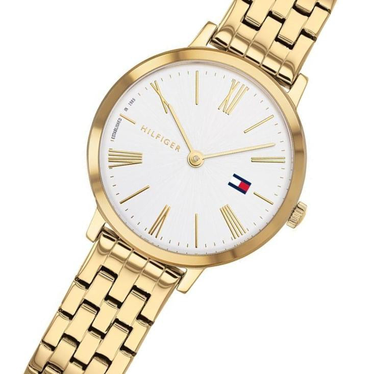 Tommy Hilfiger x Zendaya Classic Gold Steel Ladies Watch - 1782054