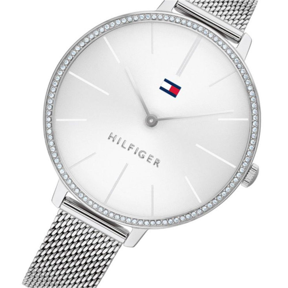 Tommy Hilfiger Mesh Ladies Slim Watch - 1782113