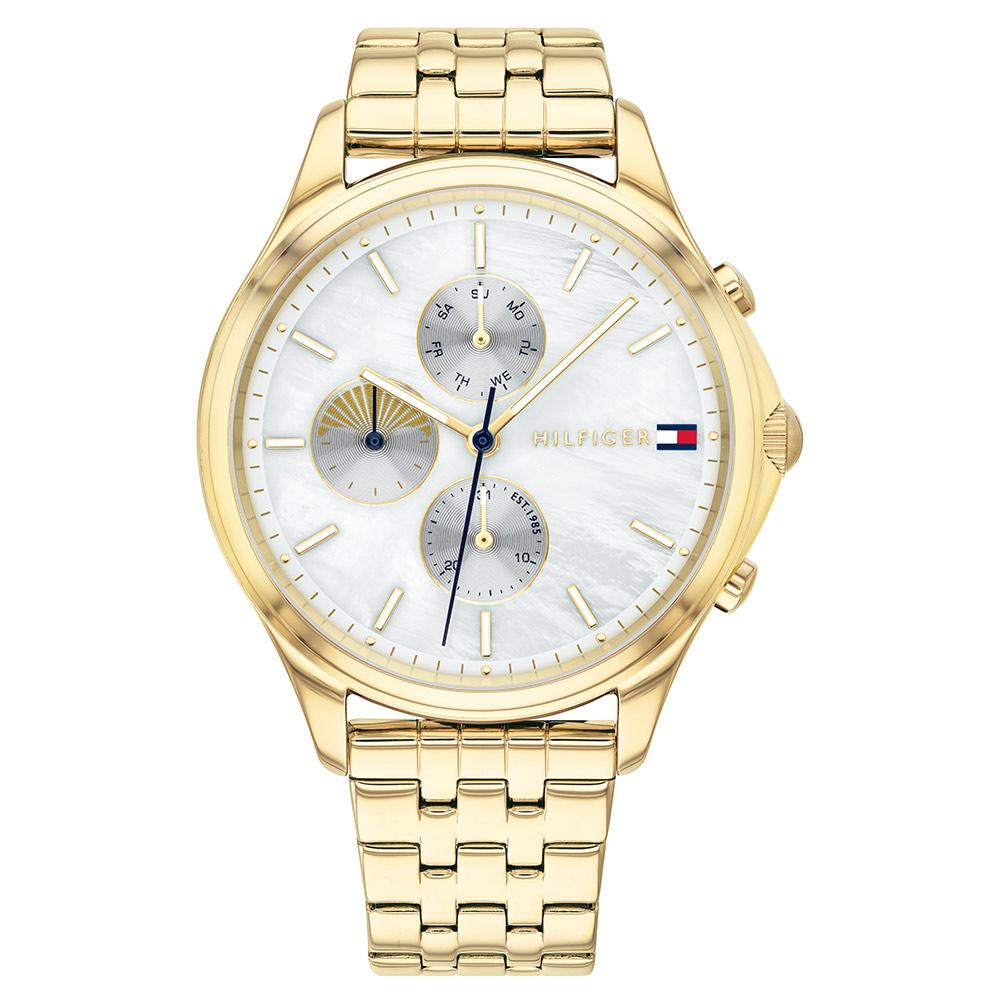 Tommy Hilfiger Whitney Ionic Thin Gold Plated 1 Steel Ladies Multi-function Watch - 1782121