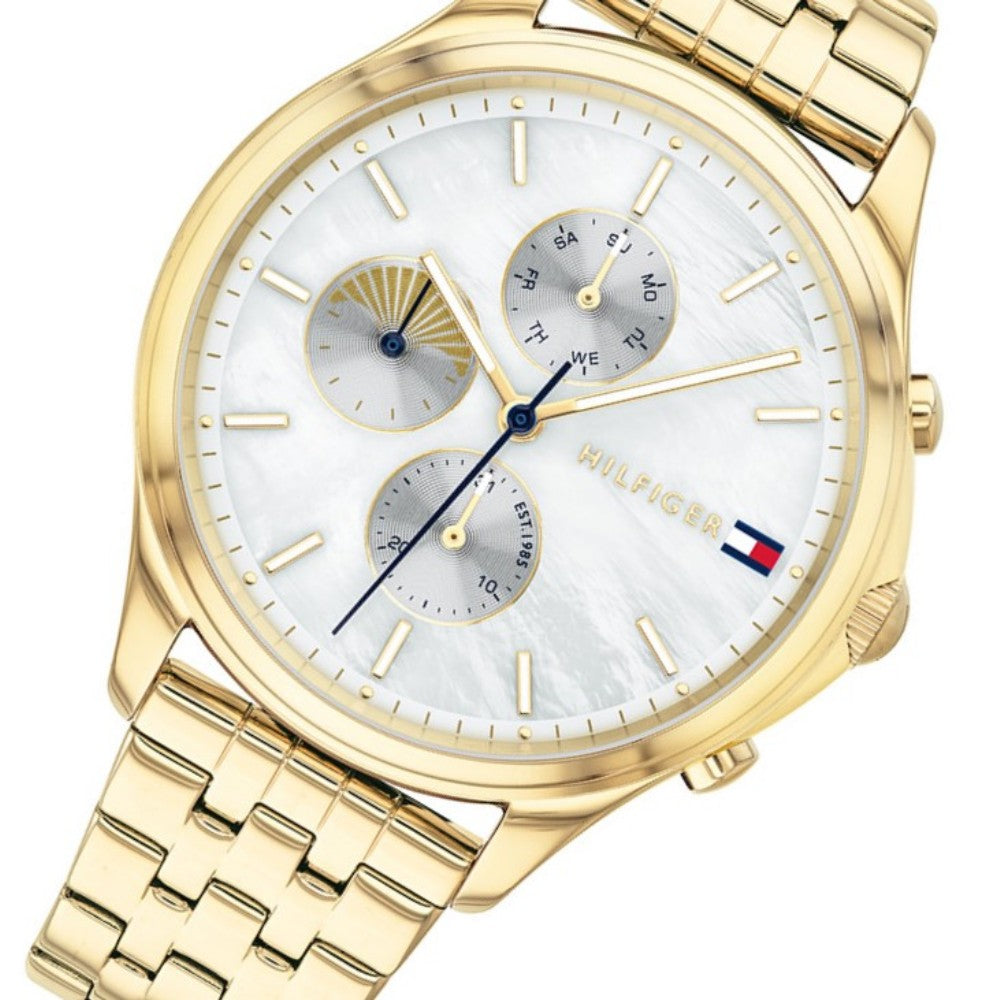 Tommy Hilfiger Multi-function Gold Steel Ladies Watch - 1782121