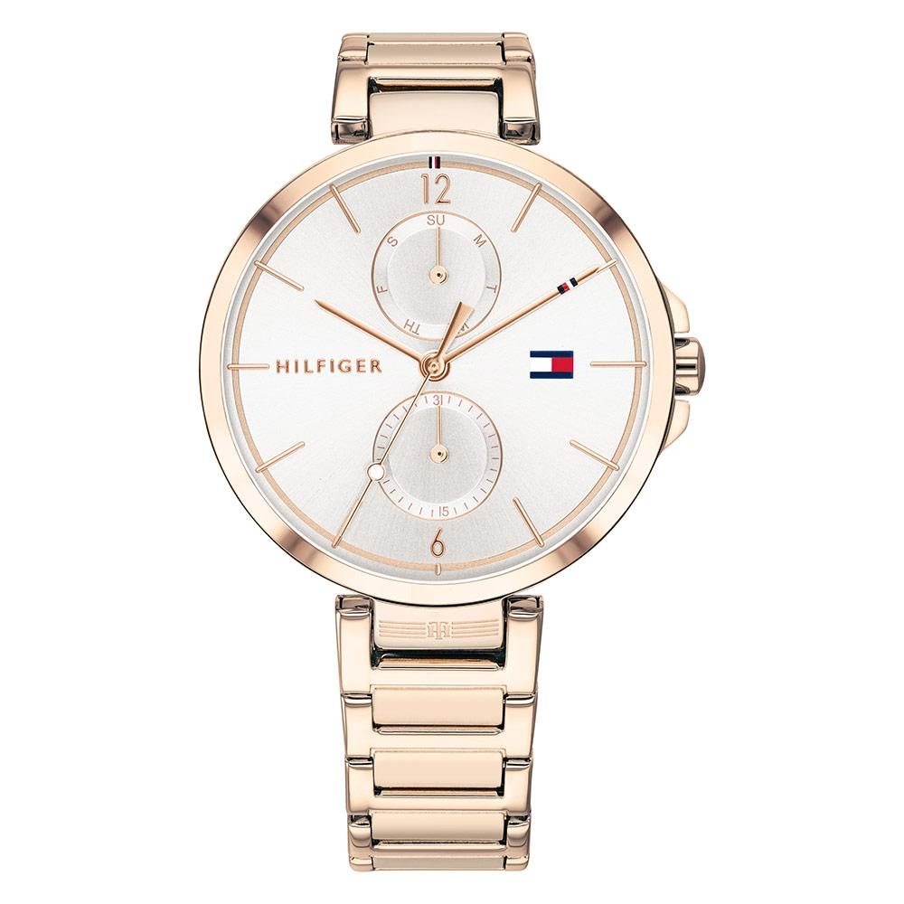 Tommy Hilfiger Multi-function Carnation Gold Steel Ladies Watch - 1782124