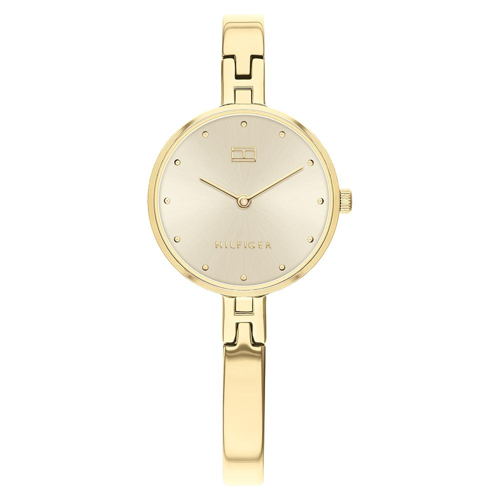 Tommy Hilfiger Gold Steel Ladies Watch - 1782135