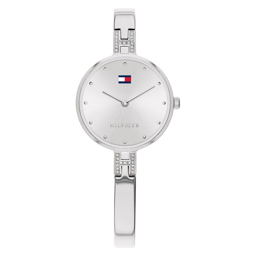 Tommy Hilfiger Silver Steel Ladies Watch - 1782137