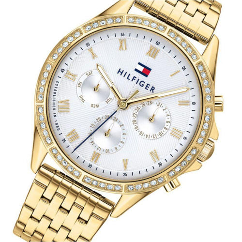 Tommy Hilfiger Gold Steel Ladies Multi-function Watch - 1782142