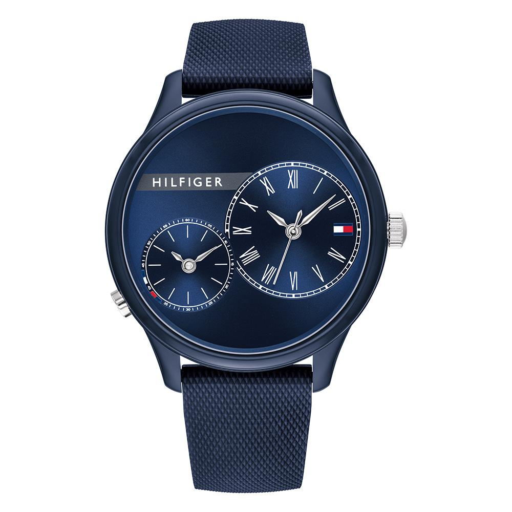 Tommy Hilfiger Blue Silicone Ladies Watch - 1782146
