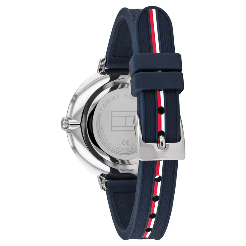Tommy Hilfiger Navy Silicone Ladies Sports Watch - 1782154