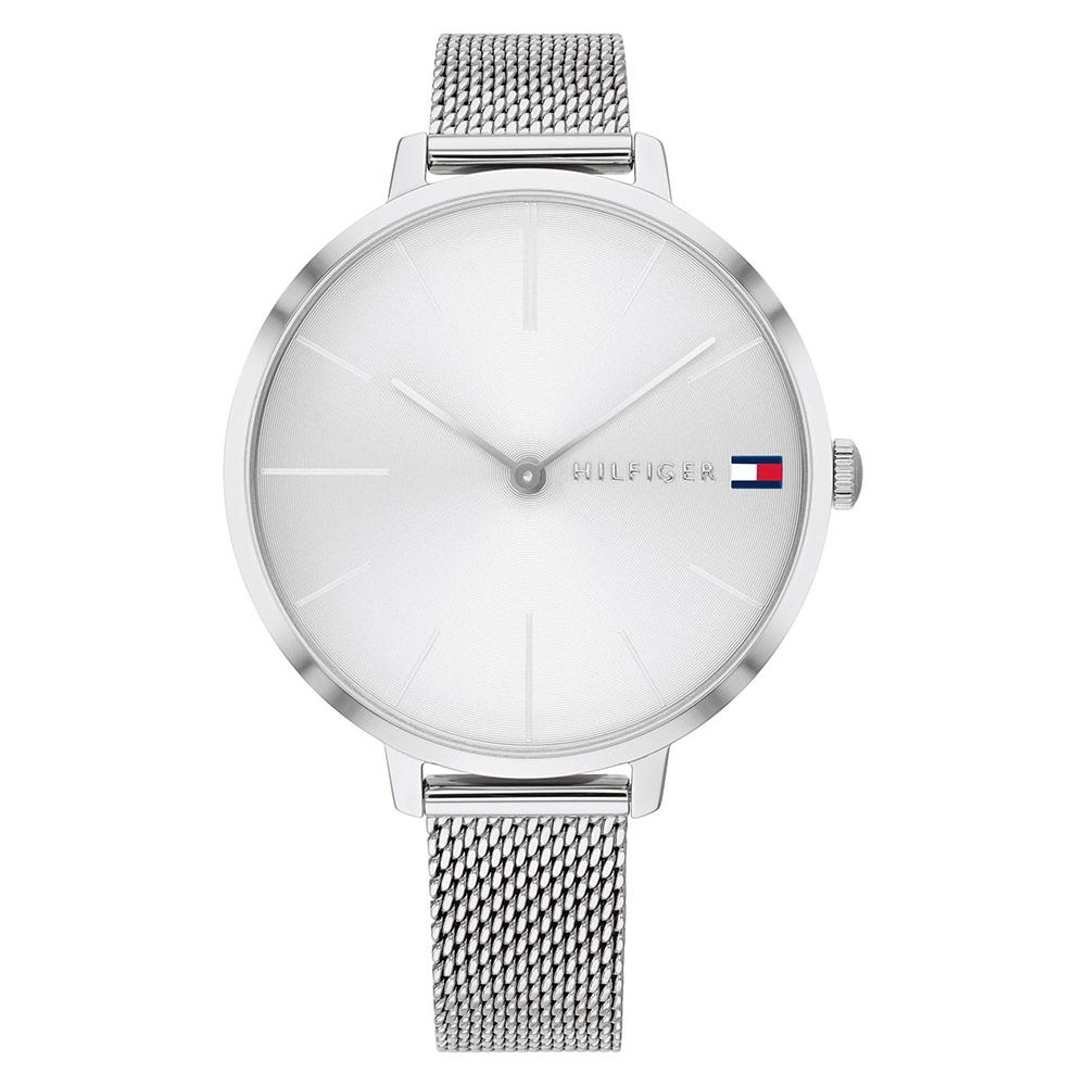 Tommy Hilfiger Silver Mesh Ladies Watch - 1782163