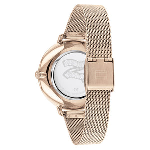Tommy Hilfiger Carnation Gold Steel Ladies Watch - 1782165