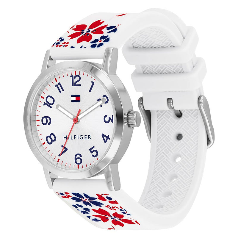 Tommy Hilfiger Silicone Band Girls' Watch - 1782173