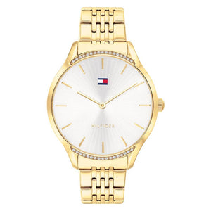 Tommy Hilfiger Gold Steel Ladies Watch - 1782211