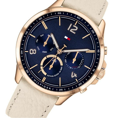 Tommy Hilfiger Harper Leather Ladies Multi-function Watch - 1782226