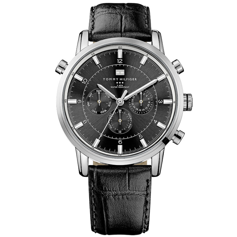 Tommy Hilfiger Leather Men's Watch - 1790875