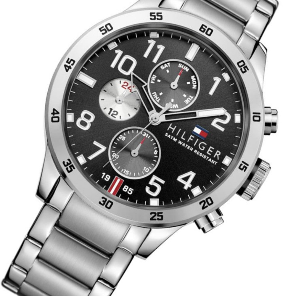 Tommy Hilfiger Multi-function Steel Men's  Watch - 1791141