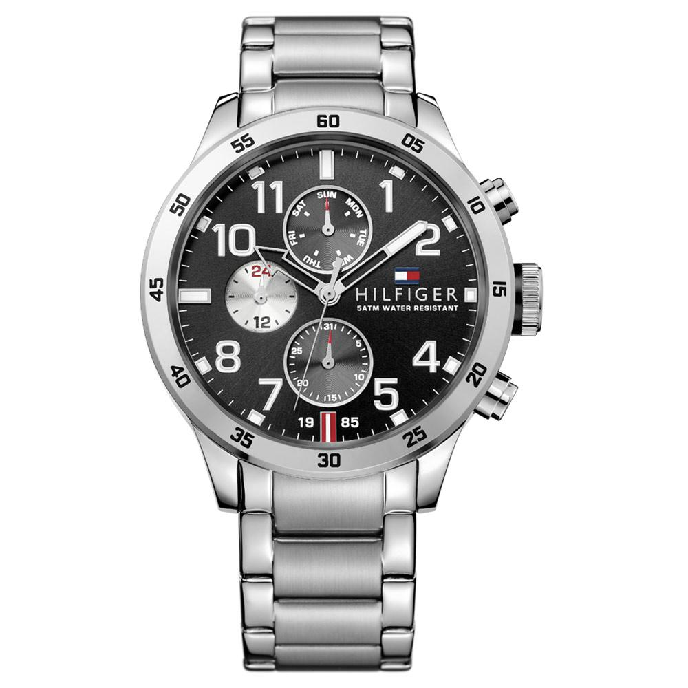 Tommy Hilfiger Trent Stainless Steel Men's Multi-function Watch - 1791141