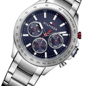 Tommy Hilfiger Multi-Function Blue Dial Men's Watch - 1791228