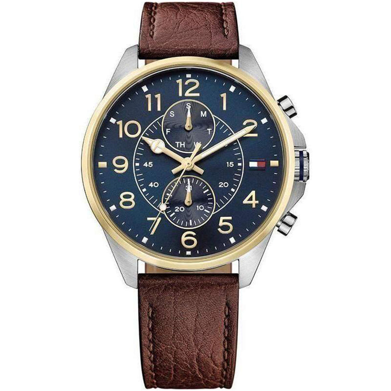 Tommy Hilfiger Multifunctional Men's Leather Watch - 1791275