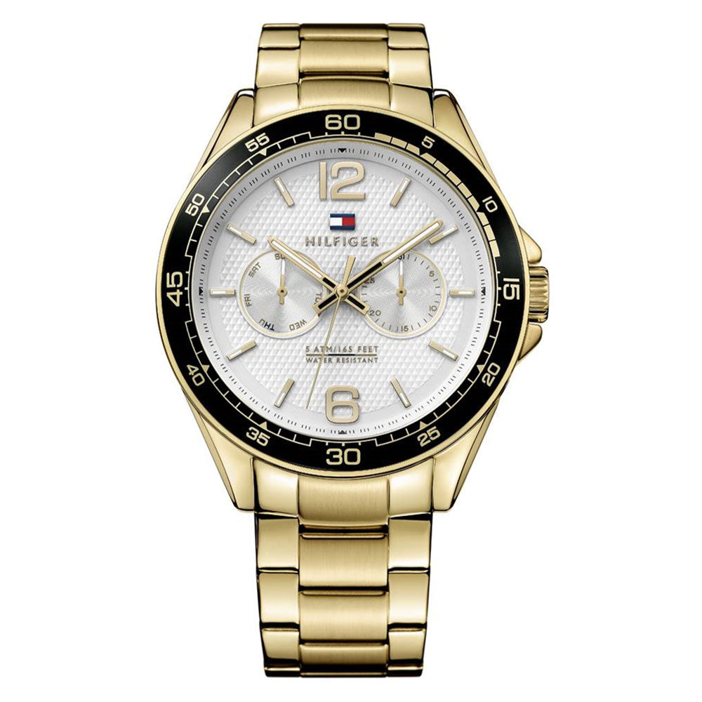 Tommy Hilfiger Sophisticated Gold Men's Watch - 1791365
