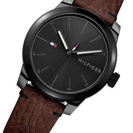 Tommy Hilfiger Men's Leather Watch - 1791383