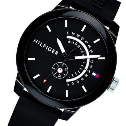 Tommy Hilfiger Men's Silicone Sport Watch - 1791483