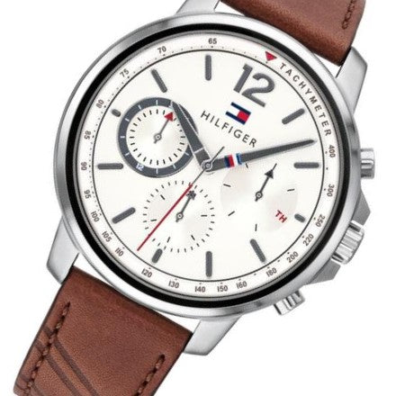 Tommy Hilfiger Leather Men's Watch - 1791531