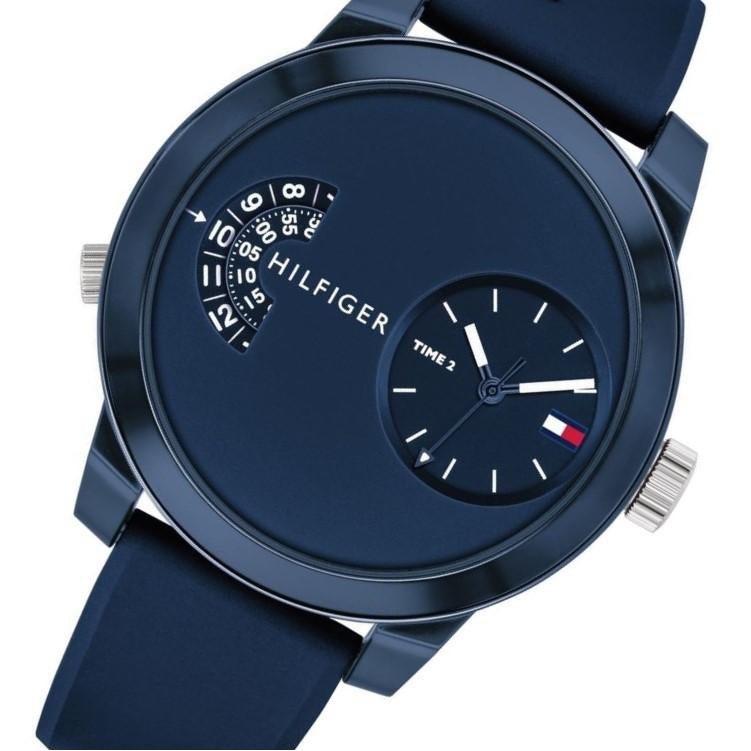 Tommy Hilfiger Denim Sport Silicone Men's Watch - 1791556